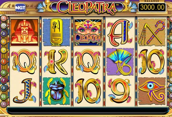 Play Cleopatra Slots Online
