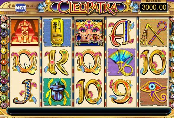 Play Cleopatra Slots Online