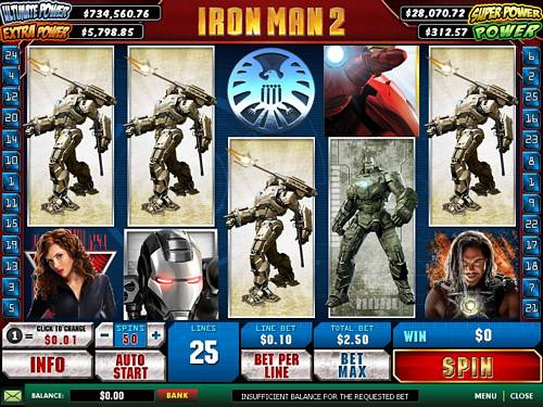 bet365-casino-iron-man 2 slots