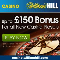 William Hill Casino Promo Code £300 Bonus