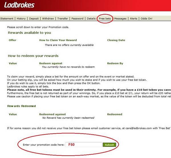 ladbrokes-promotion-code-F50-free-bet