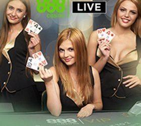 888 Live Casino Promo Code LIVE30 – £30 Extra Bonus