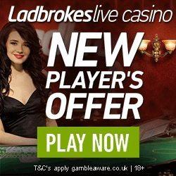 Ladbrokes Live Dealer Casino £50 Free