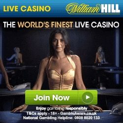 William Hill Live Casino Promo Code £100 Bonus