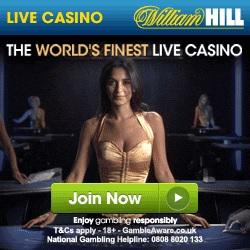 William Hill Live Casino Promo Code £100 Bonus