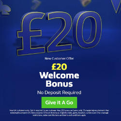 William Hill No Deposit Bonus £20 Free